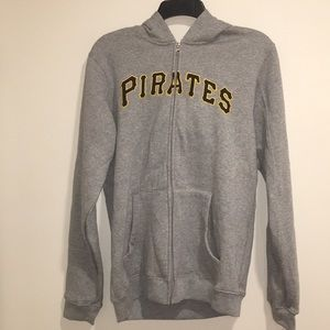 Youth Pittsburgh Pirates Zip Fleece Hoodie NWT XL